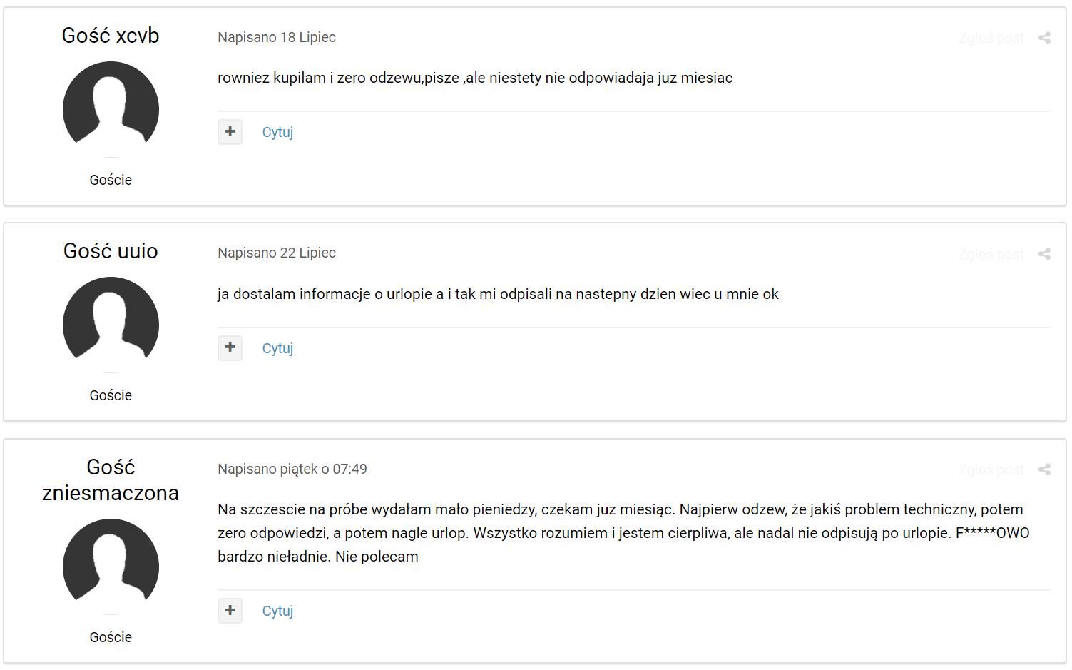 opinie o fejmowo