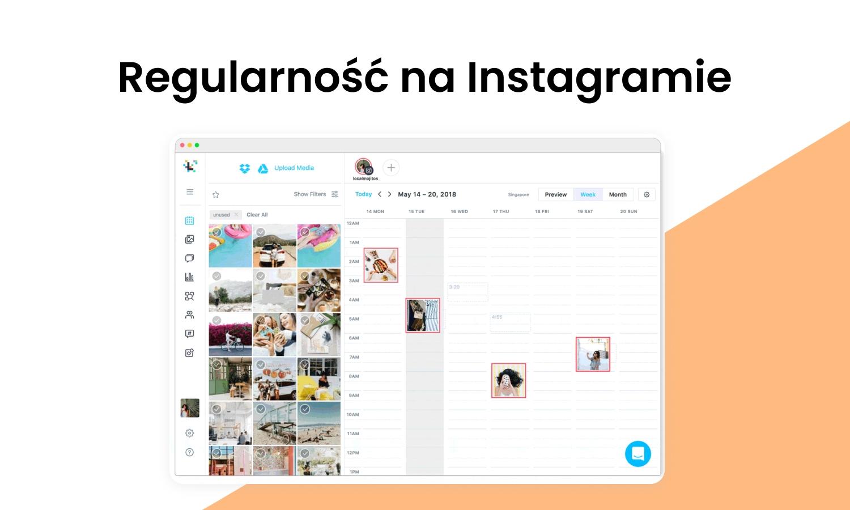 Regularne postowanie na Instagramie